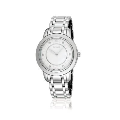 Stainless Steel Watch with Vanilla Diamonds® 1/20 cts. | ZELA 22