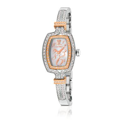 Stainless Steel Watch with Vanilla Diamonds® 1  1/4 cts. | ZELA 35
