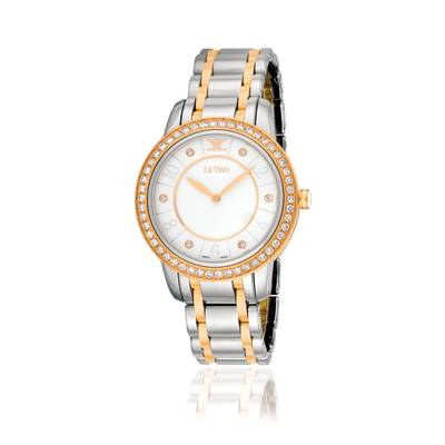 Stainless Steel Watch with Vanilla Diamonds® 1  1/4 cts. | ZELA 44