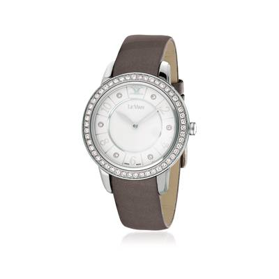 Stainless Steel Watch with Vanilla Diamonds® 1  1/4 cts. | ZELA 49