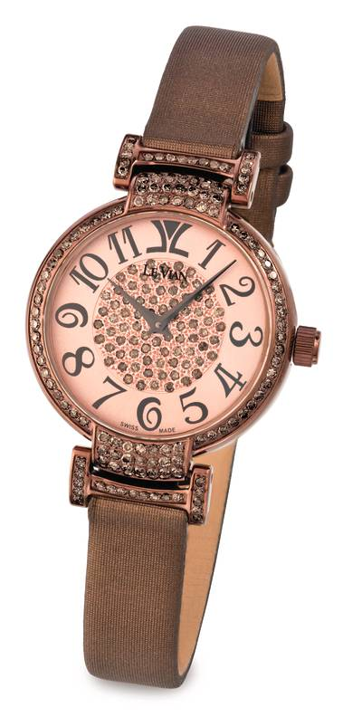 Stainless Steel Watch with Chocolate Diamonds® 1  1/3 cts. | ZLPC 3