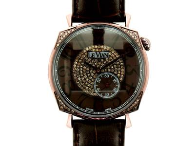 Stainless Steel Watch with Chocolate Diamonds® 7/8 cts. | ZRPA 101