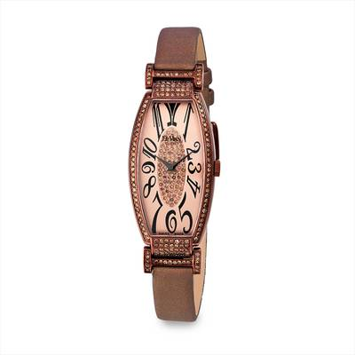Stainless Steel Watch with Chocolate Diamonds® 1  1/2 cts. | ZRPA 139
