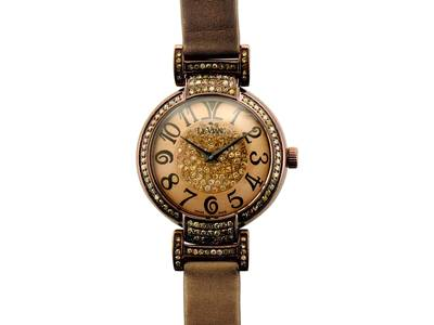 Stainless Steel Watch with Chocolate Diamonds® 1  1/4 cts. | ZRPA 140