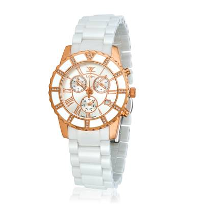 Stainless Steel Watch with Vanilla Diamonds® 1/4 cts. | ZRPA 211