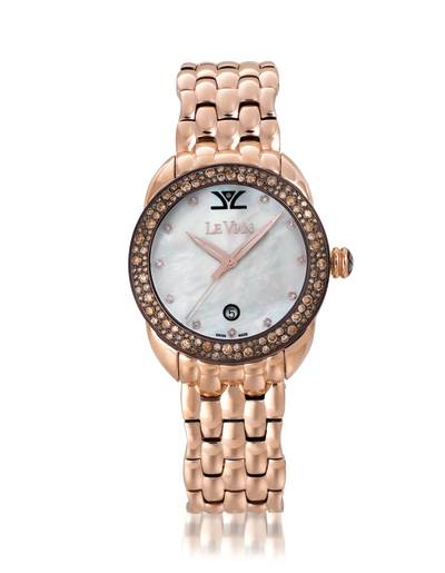 Stainless Steel Watch with Chocolate Diamonds® 1  7/8 cts., Vanilla Diamonds® 1/20 cts. | ZRPA 5