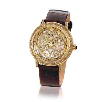 Stainless Steel Watch with - Diamonds 2  1/2 cts. | ZRPA 6A
