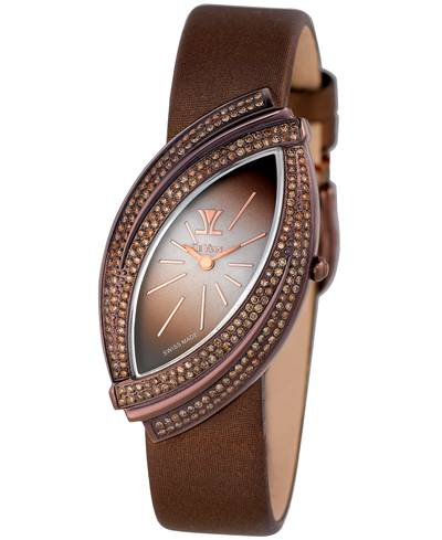 Stainless Steel Watch with Chocolate Diamonds® 1  3/4 cts. | ZRPA 72